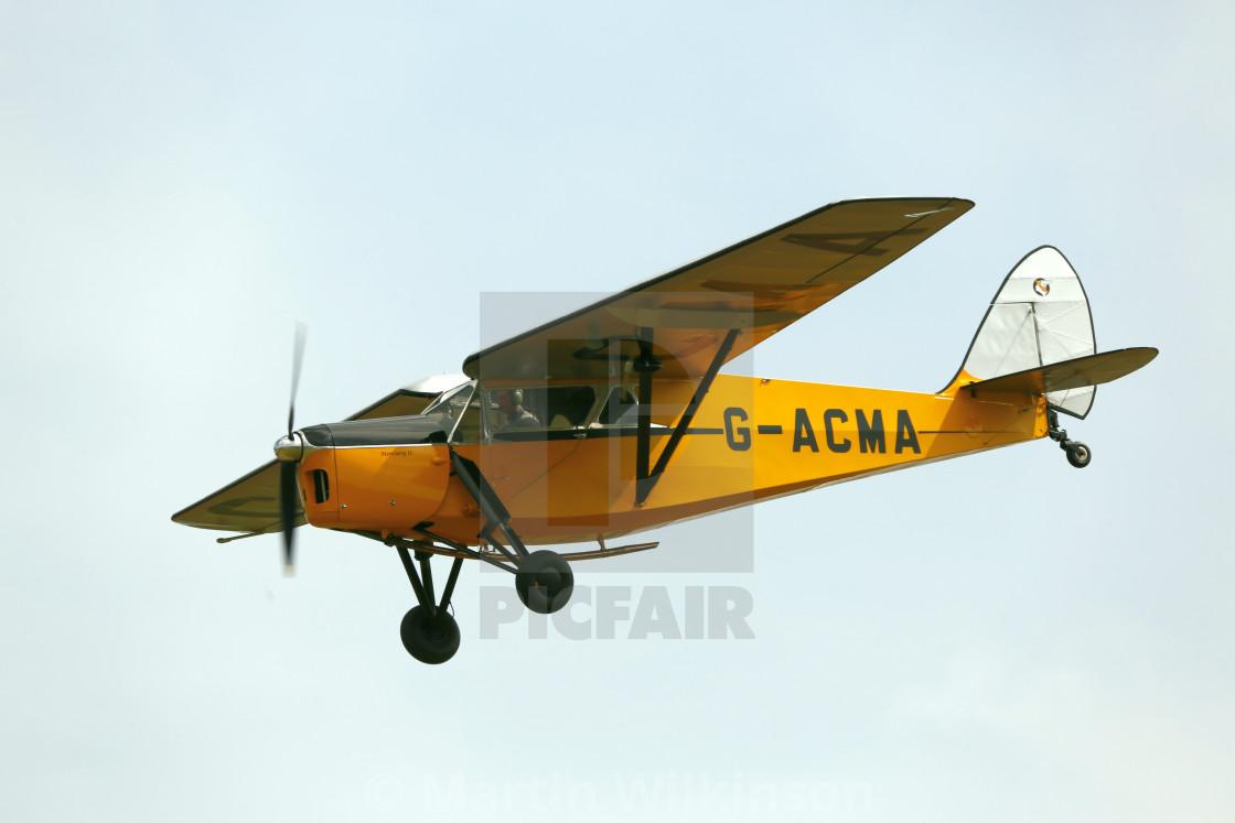 """De Havilland DH85 Leopard Moth G-ACMA"" stock image"