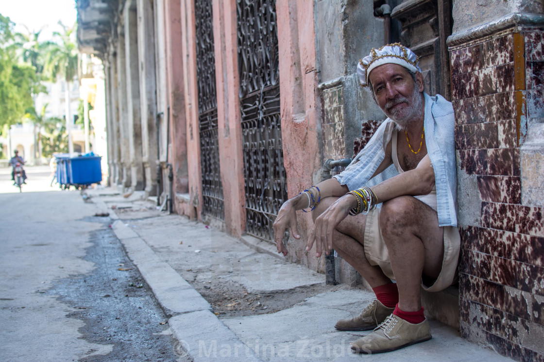 """Old man posing"" stock image"