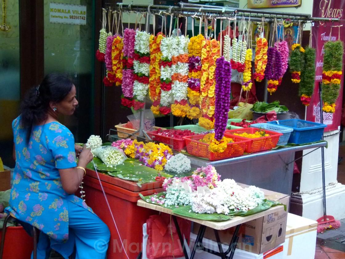 """Diwali garlands"" stock image"