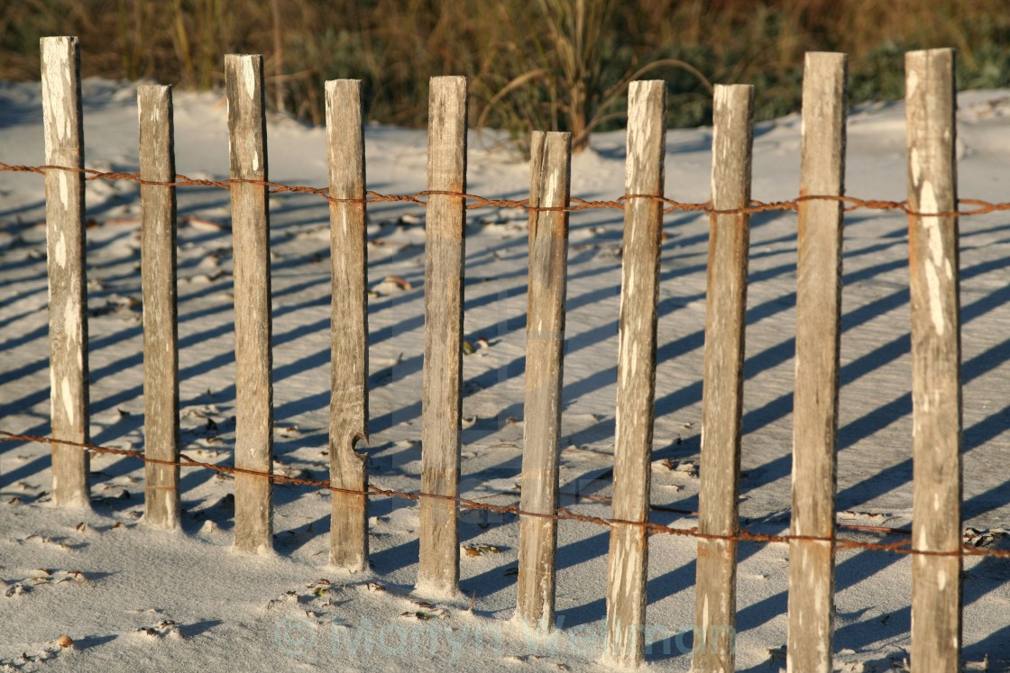 """Posts and shadows"" stock image"