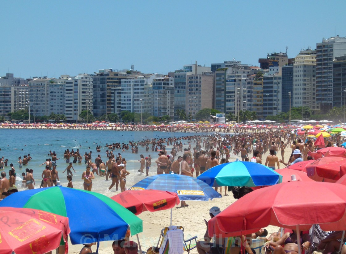 """Copacabana Beach"" stock image"