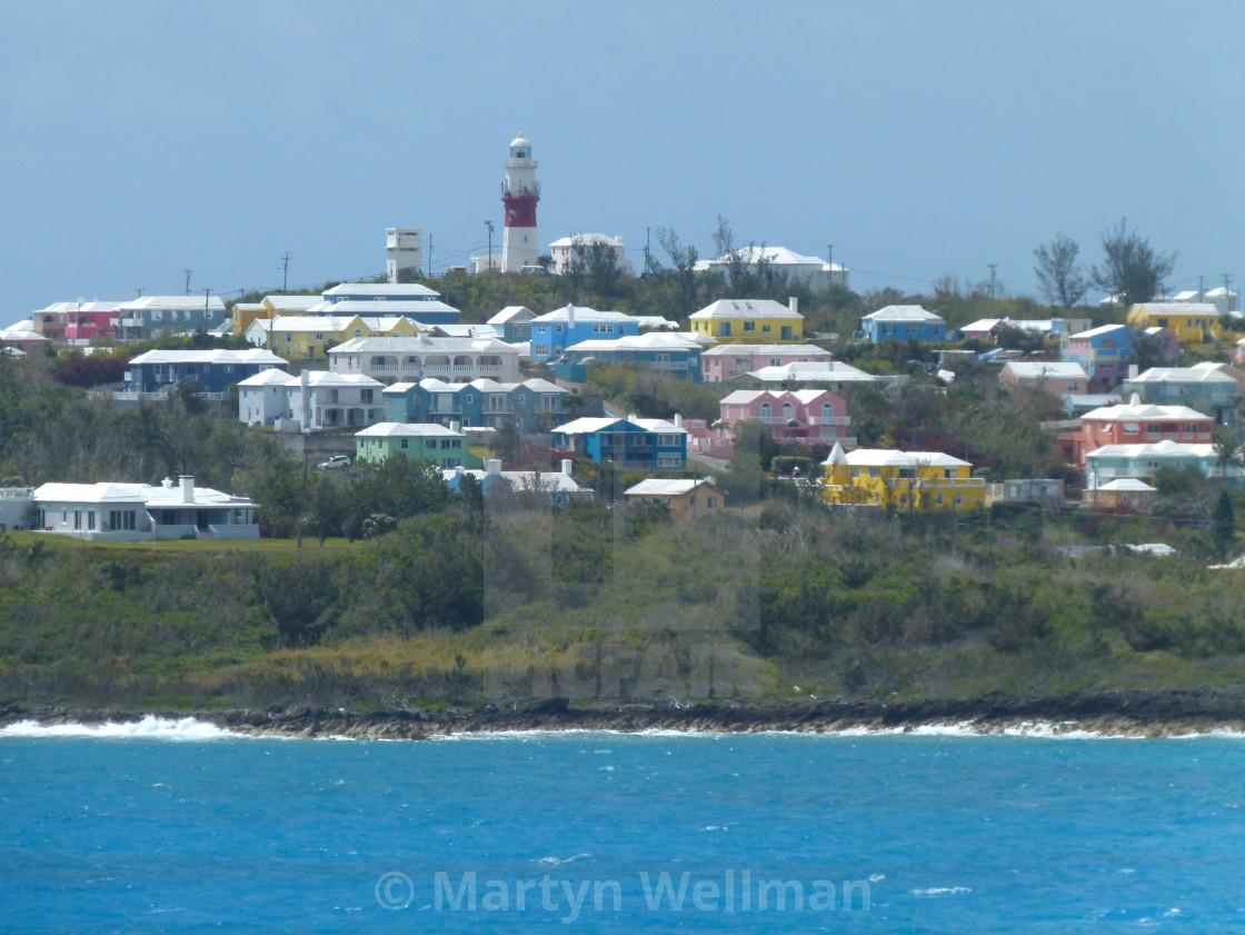 """Bermuda houses"" stock image"