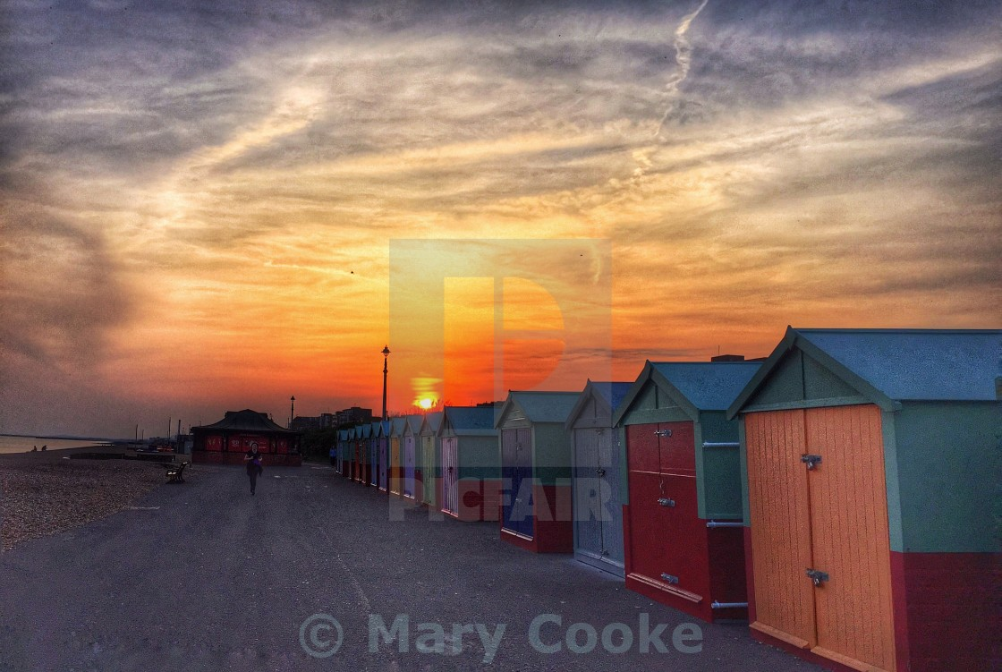 """""""Brighton and Hove seafront"""" stock image"""