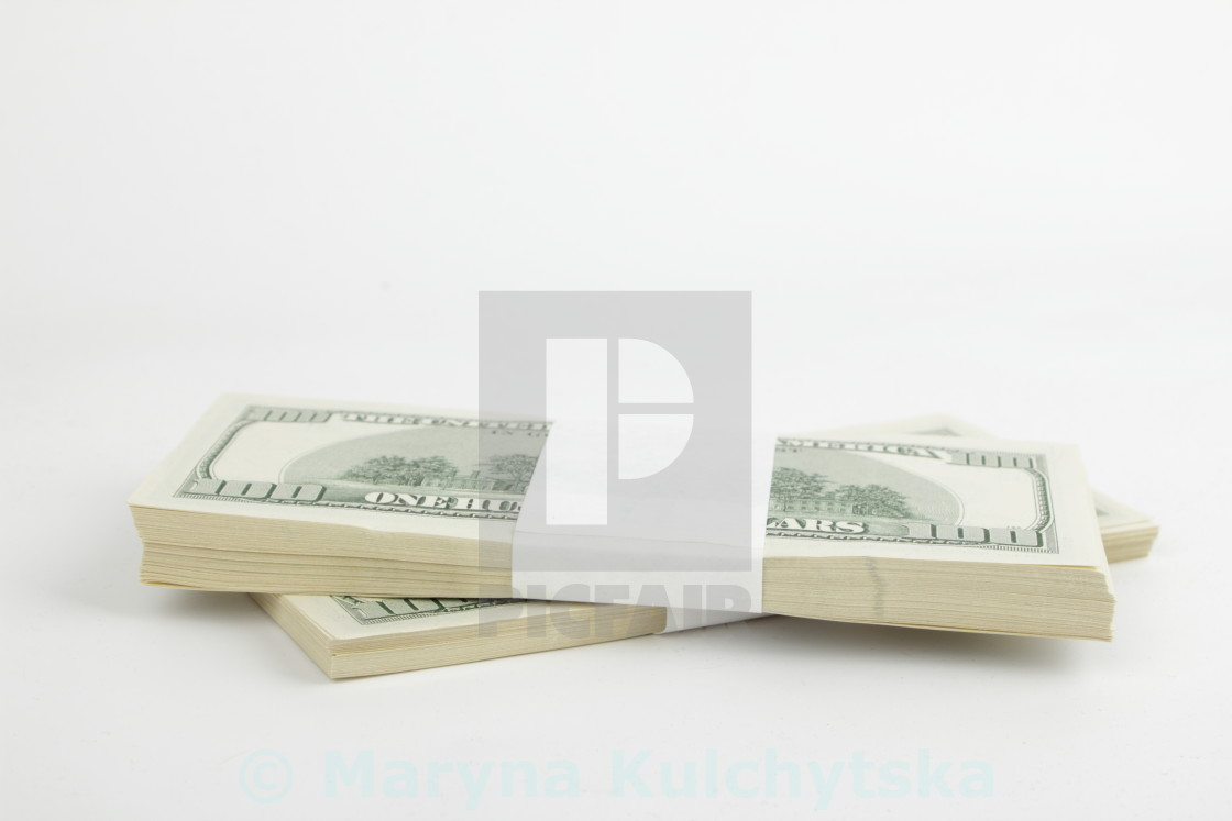 """American national currency/Dollars"" stock image"