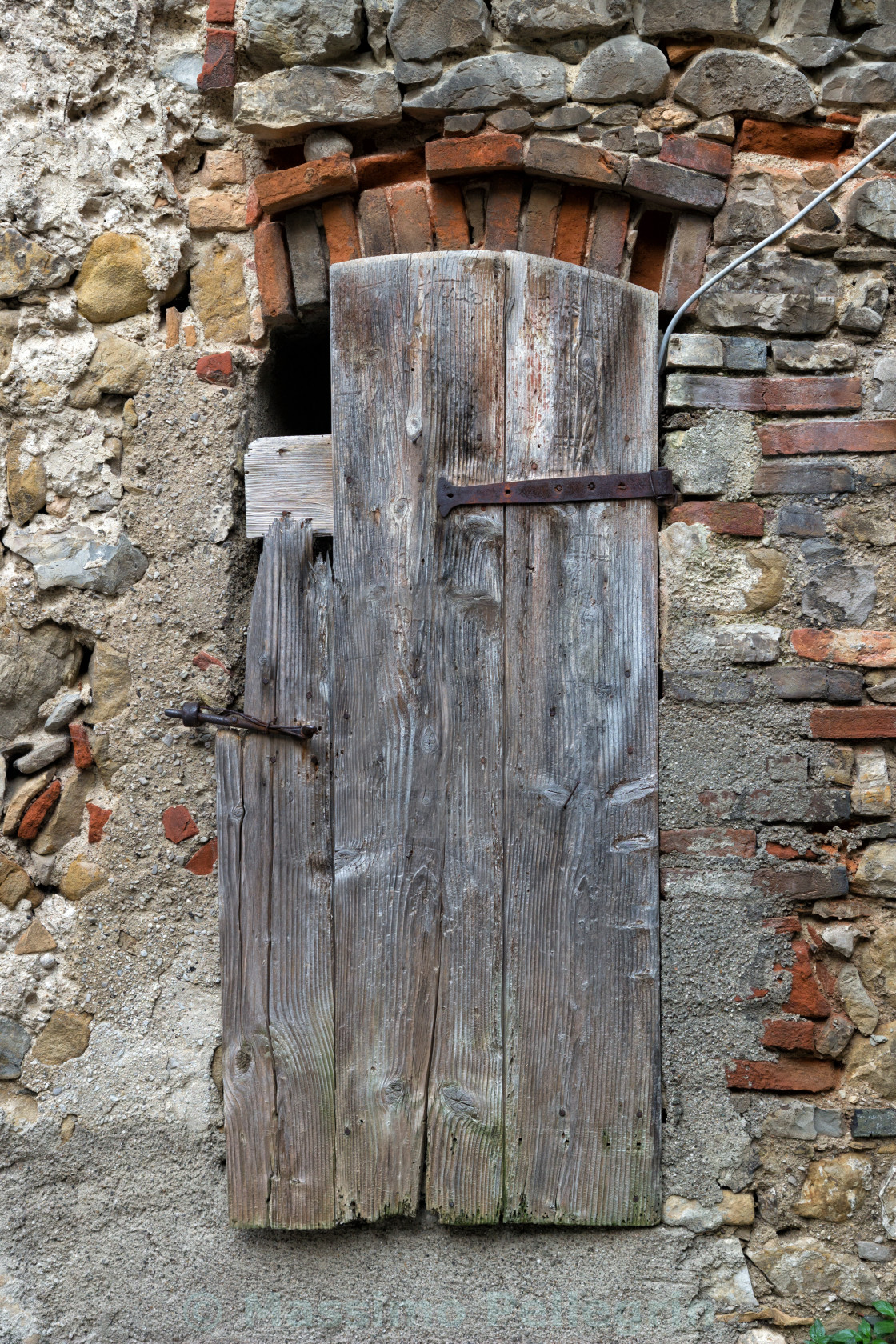 """""""Detail of an old window of a rural house"""" stock image"""