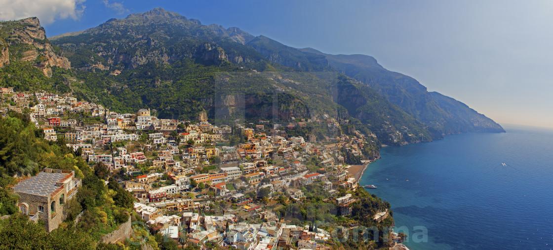 """""""Positano Panorama"""" stock image"""