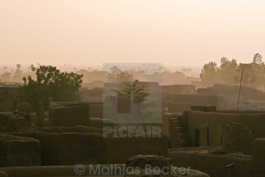 """Djenne, Mali"" stock image"