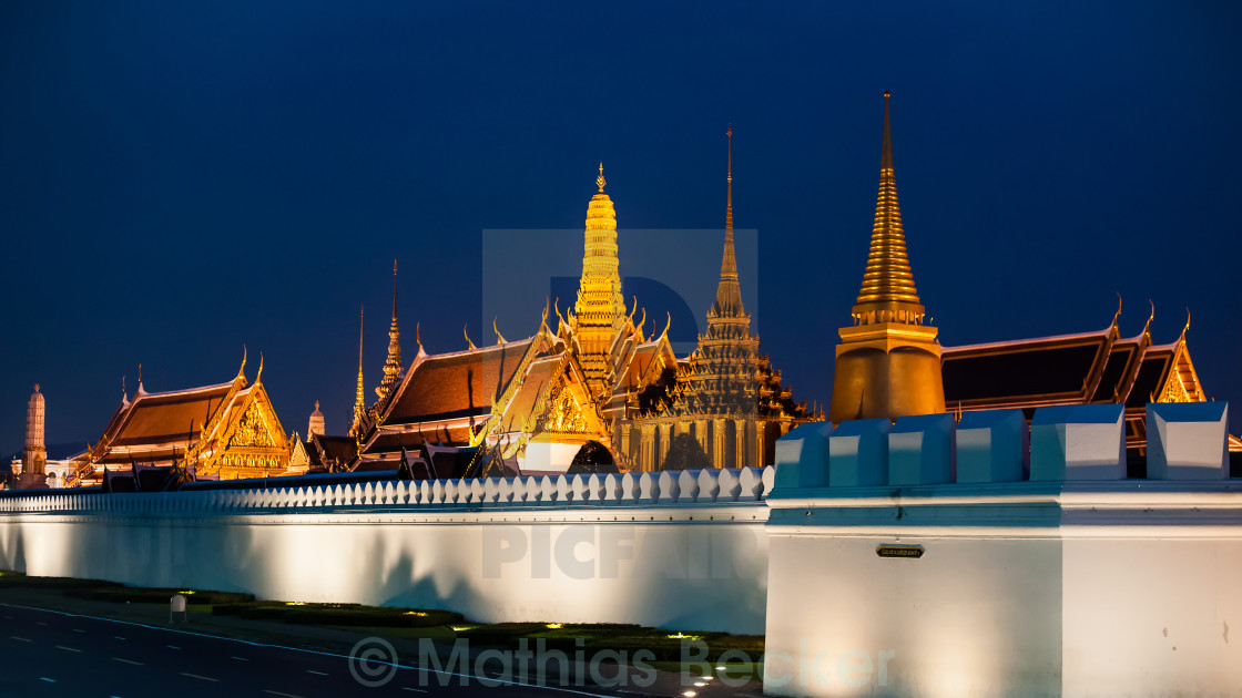 """King Palace, Bangkok"" stock image"