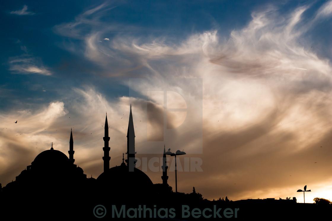 """Istanbul sky"" stock image"