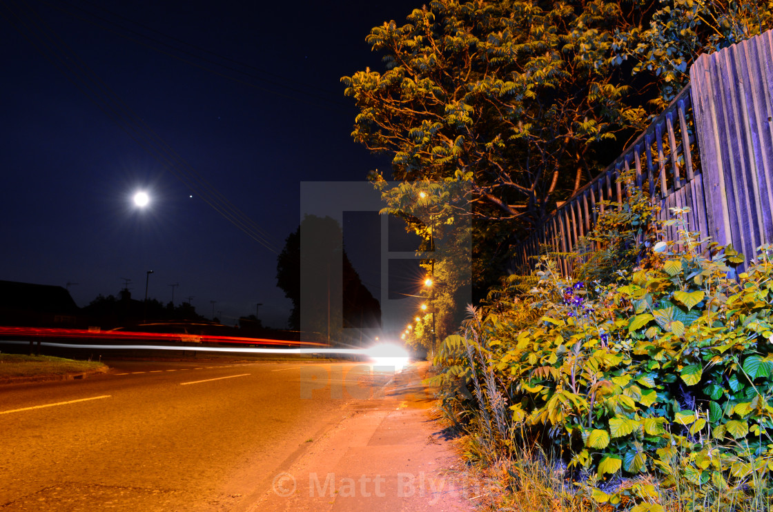 """Light Traffic"" stock image"