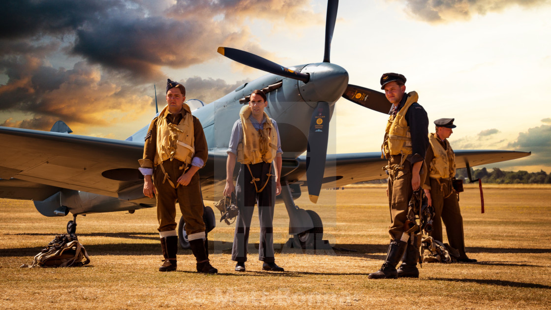 """Reconnaissance Spitfire"" stock image"