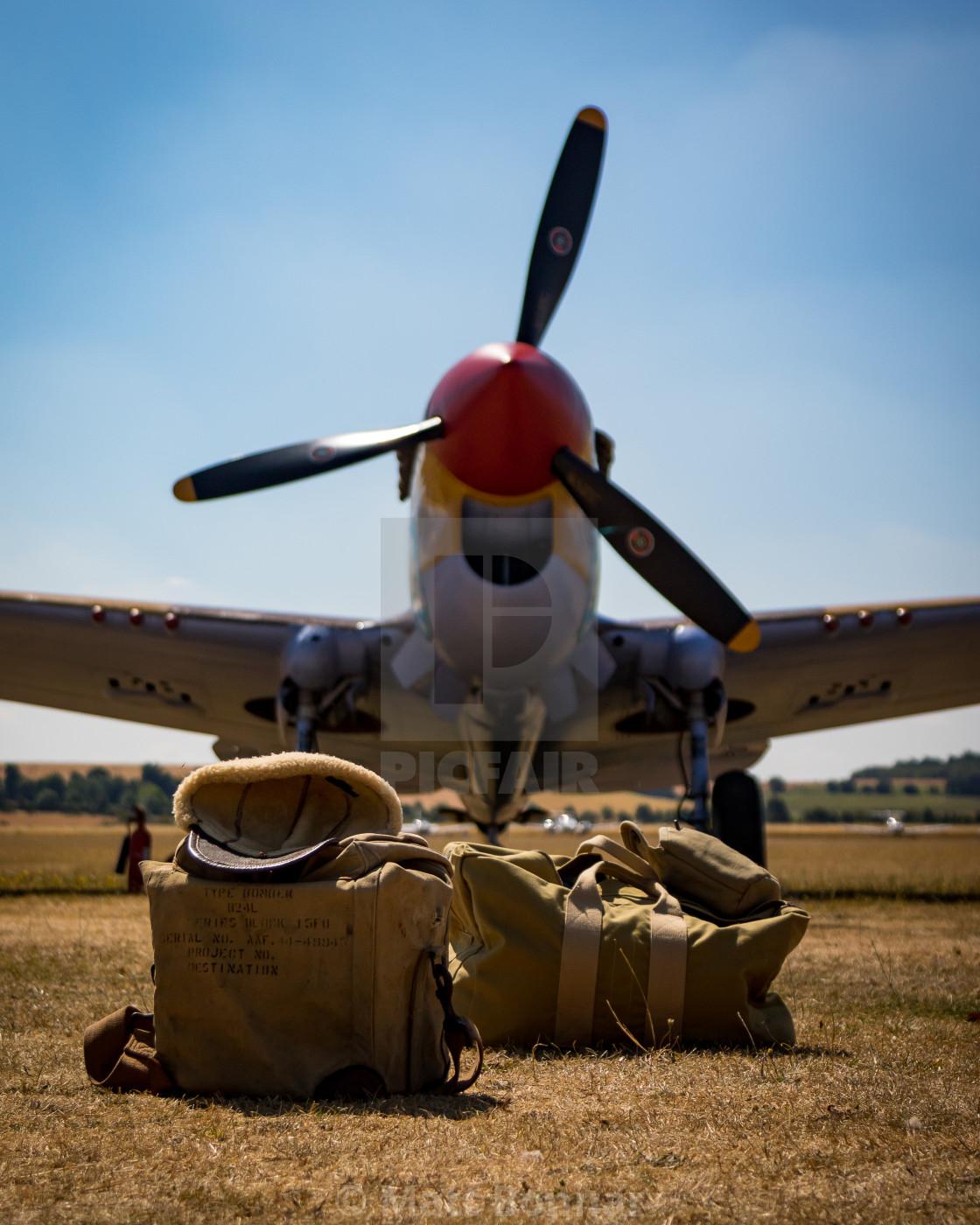 """P-40 Warhawk"" stock image"