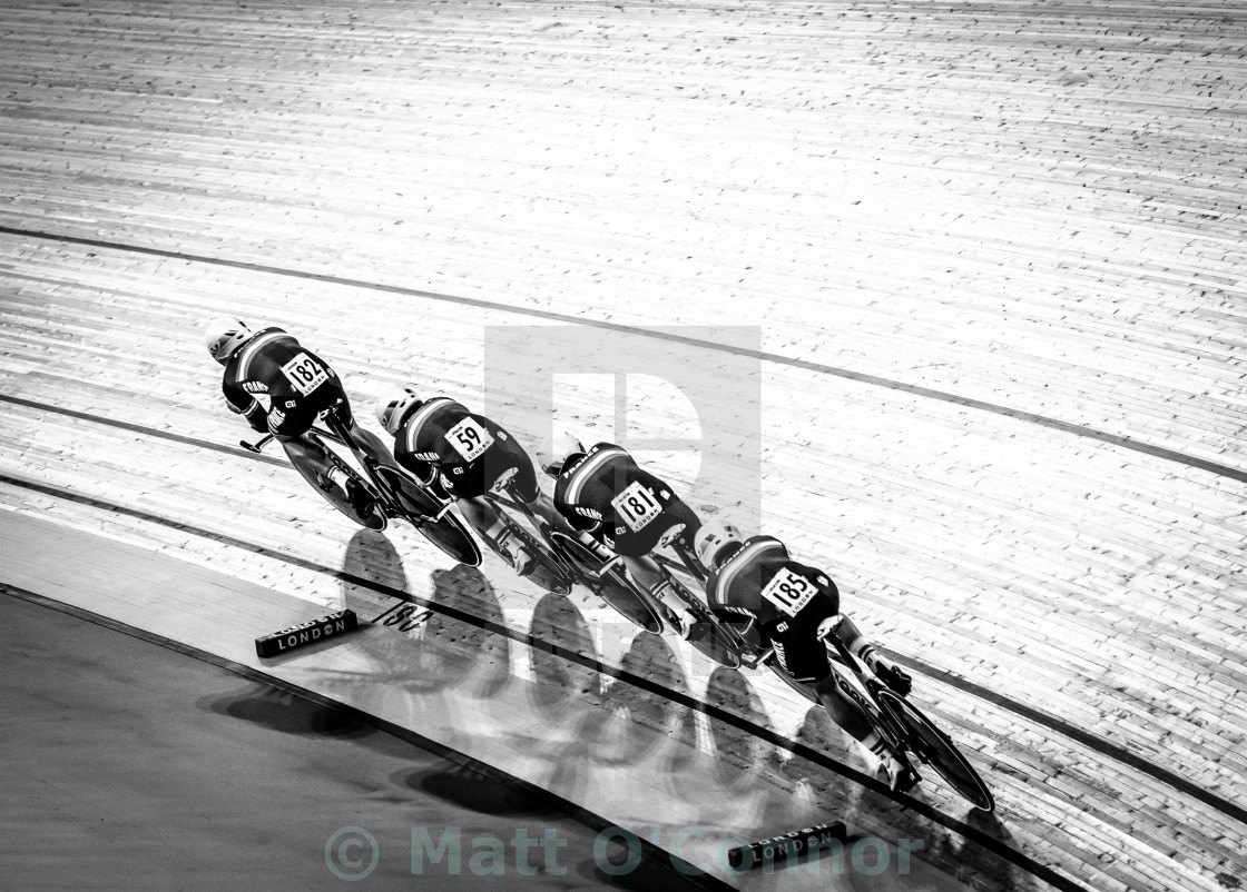 """Track worlds London 2016"" stock image"