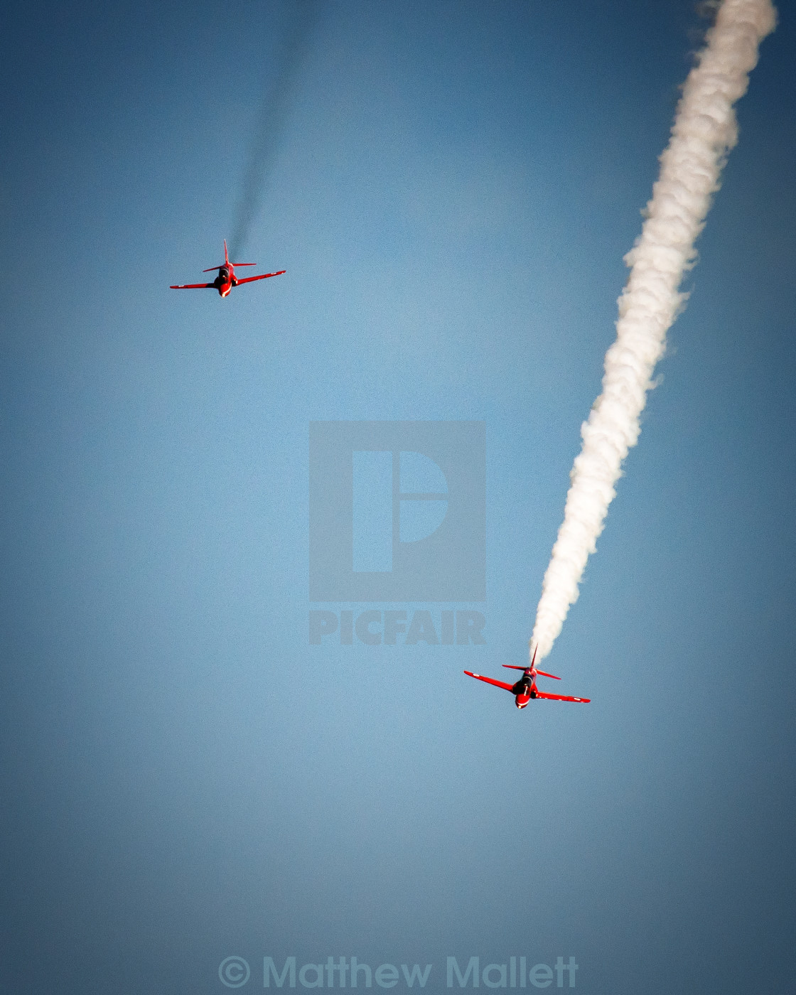"""Red Arrow Chase"" stock image"