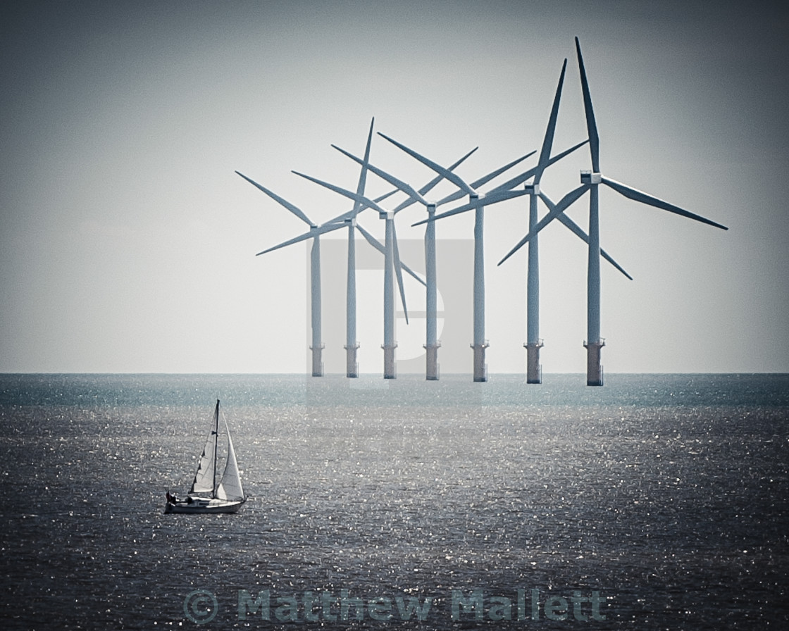 """Sailing Close To The Wind"" stock image"