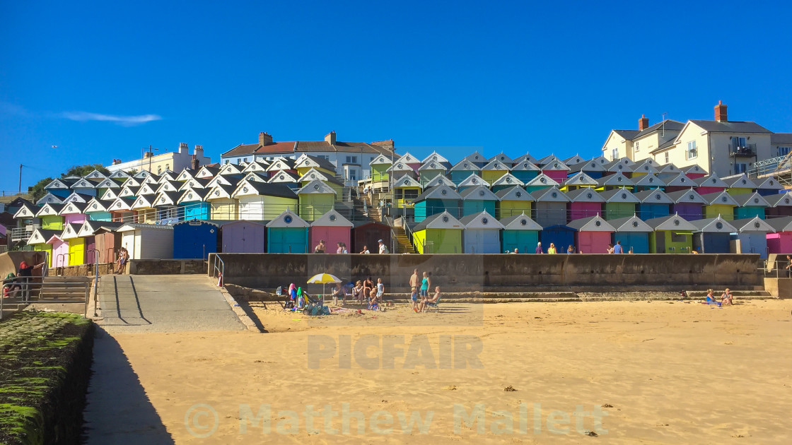 Walton On Naze Art Deco Beach Huts - License, download or