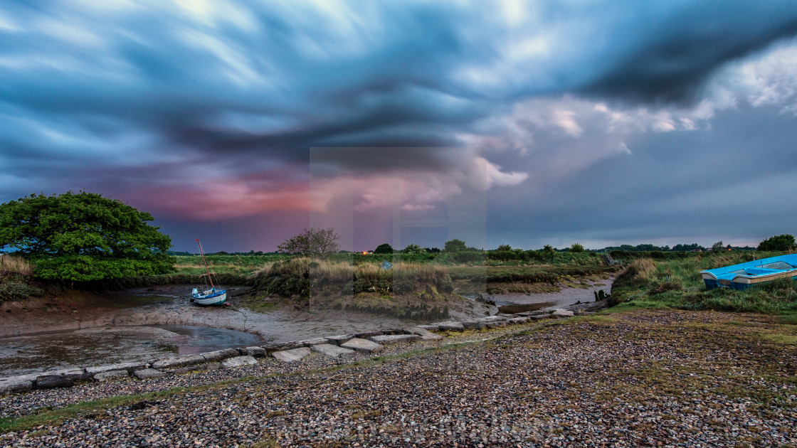 Stormy Weather Over Beaumont and Thorpe