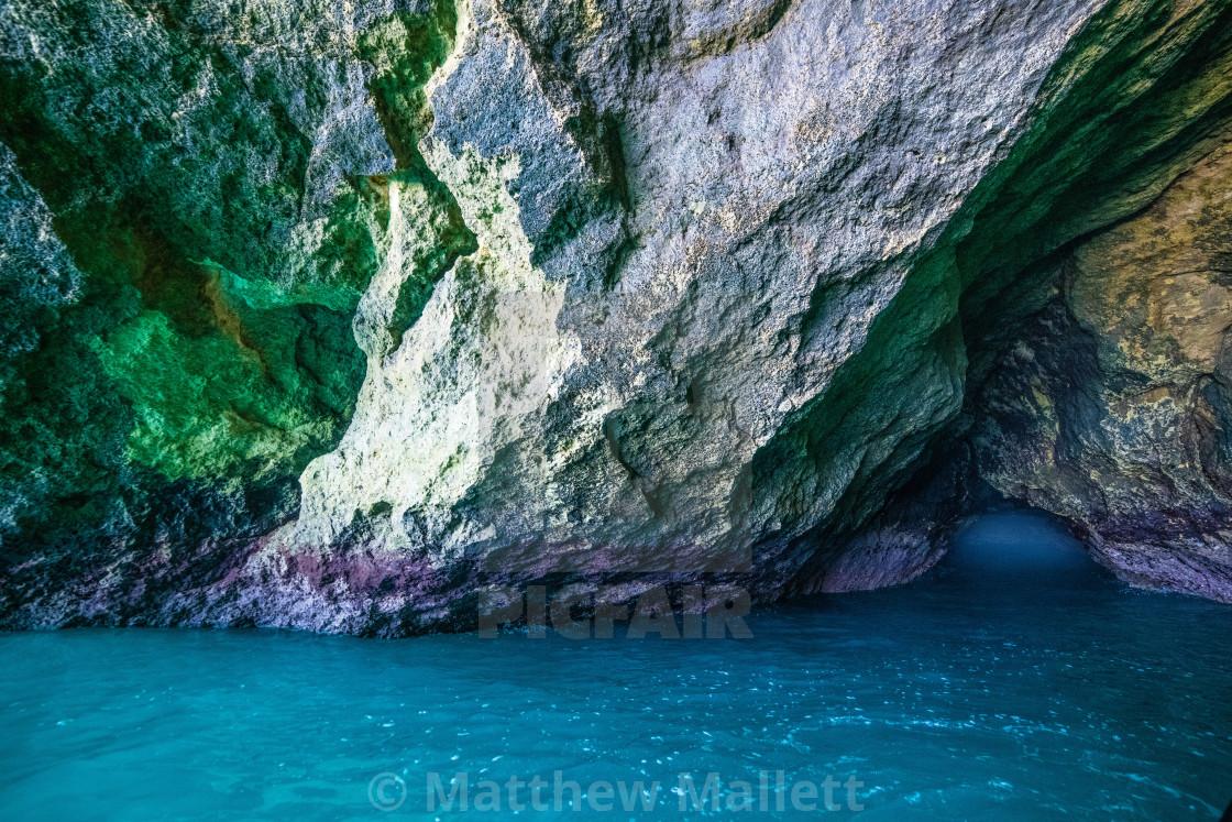 """""""Algarve Benagil Caves"""" stock image"""
