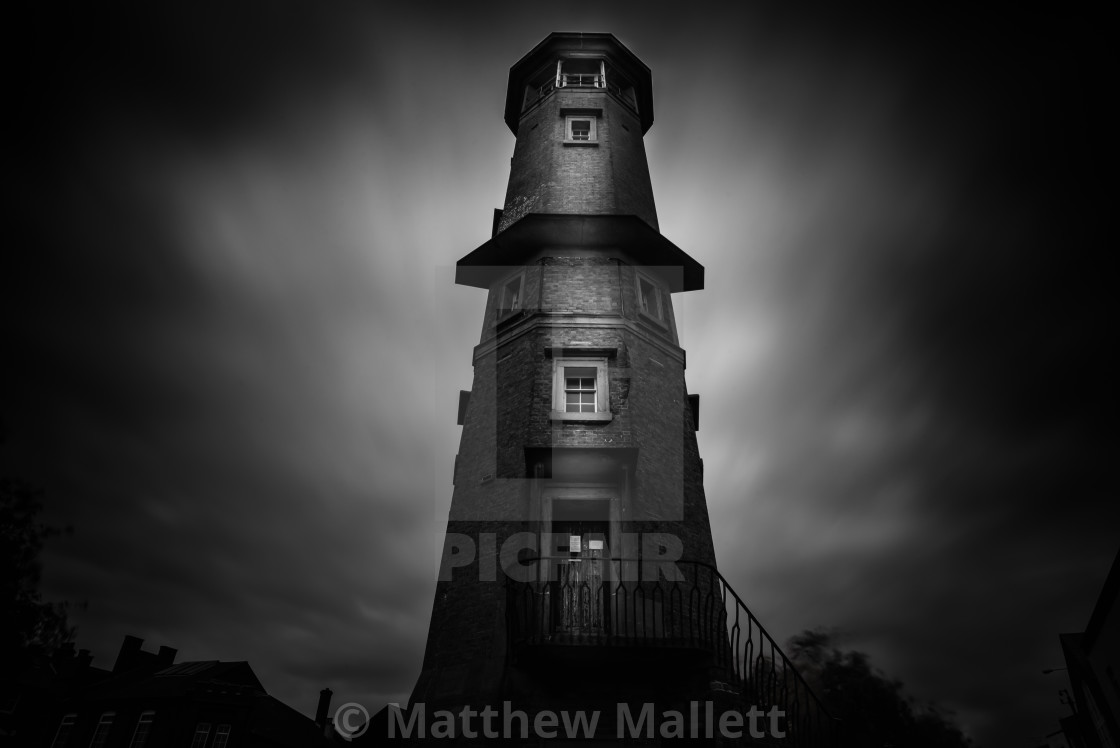 """""""Harwich High Lighthouse"""" stock image"""