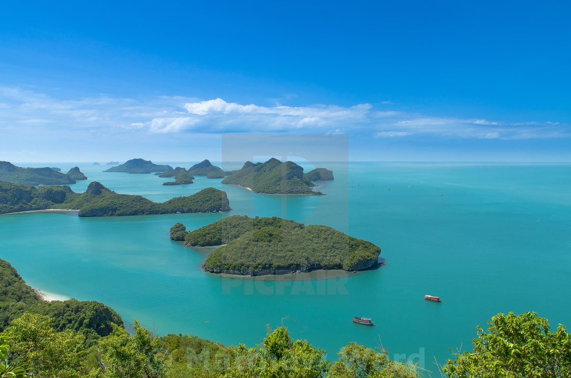 """Ang Thong Marine National Park"" stock image"