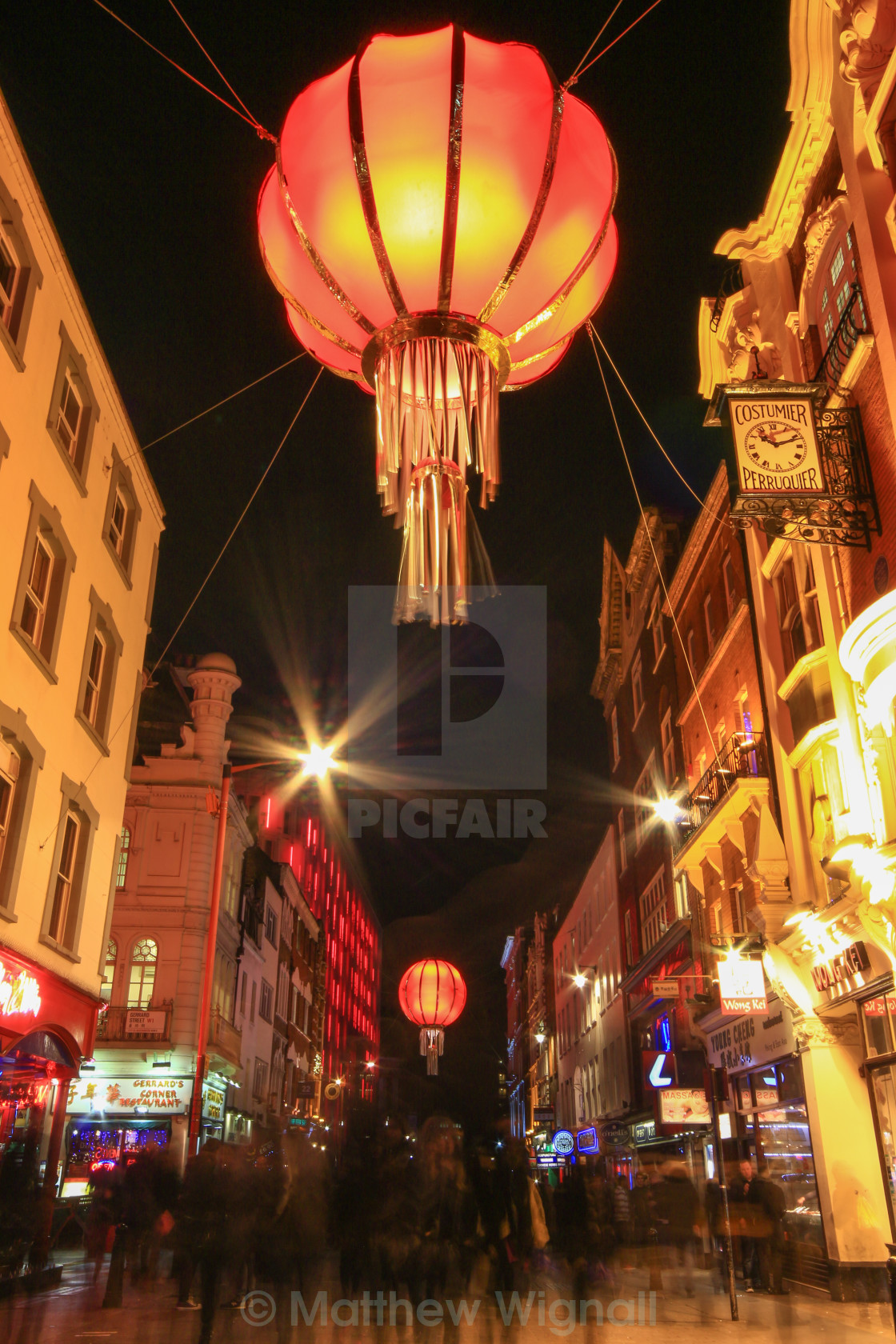 """China Town"" stock image"