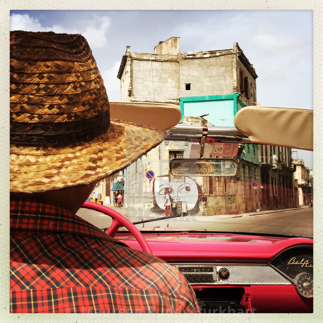 """Havana From the Back Seat"" stock image"