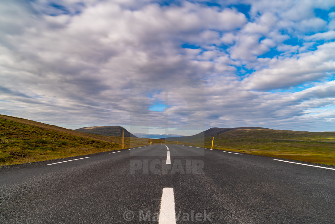 """Endless Road"" stock image"