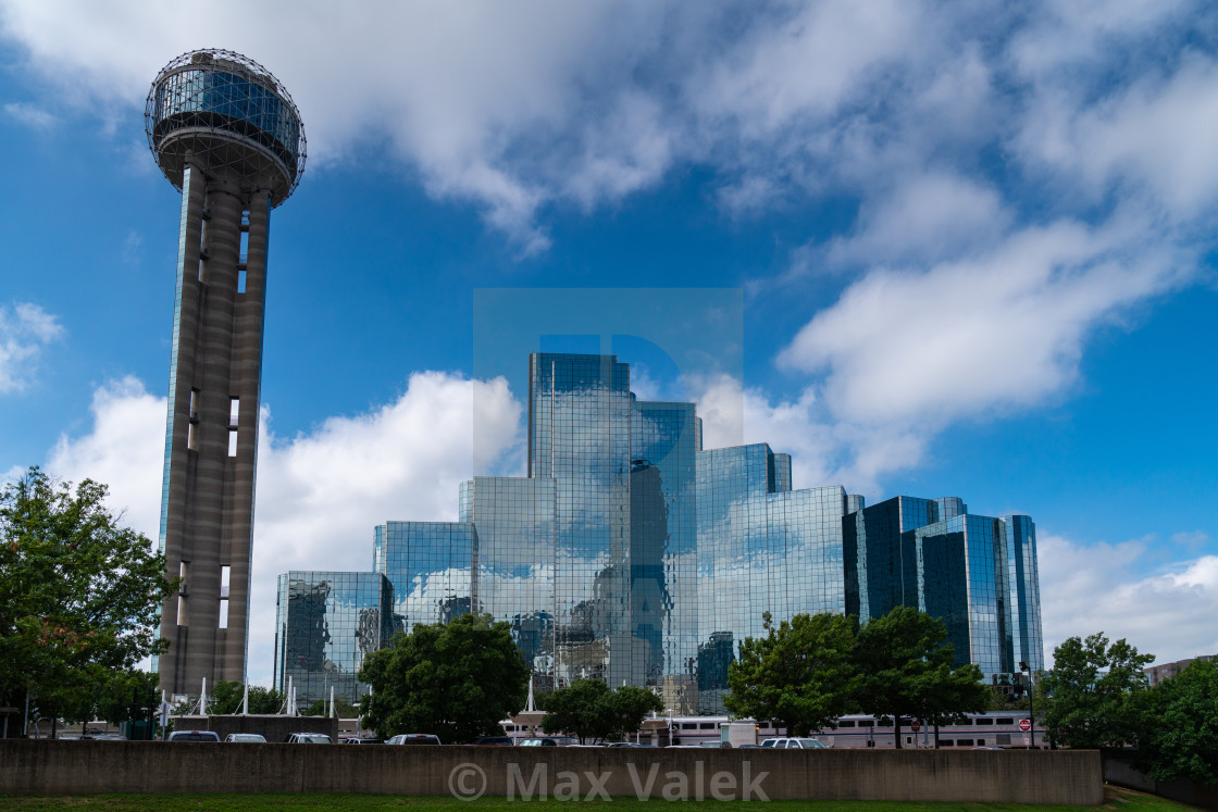 """Reunion Tower"" stock image"