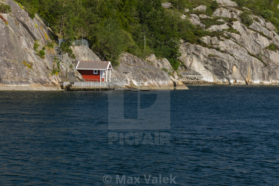 """House By The Sea"" stock image"