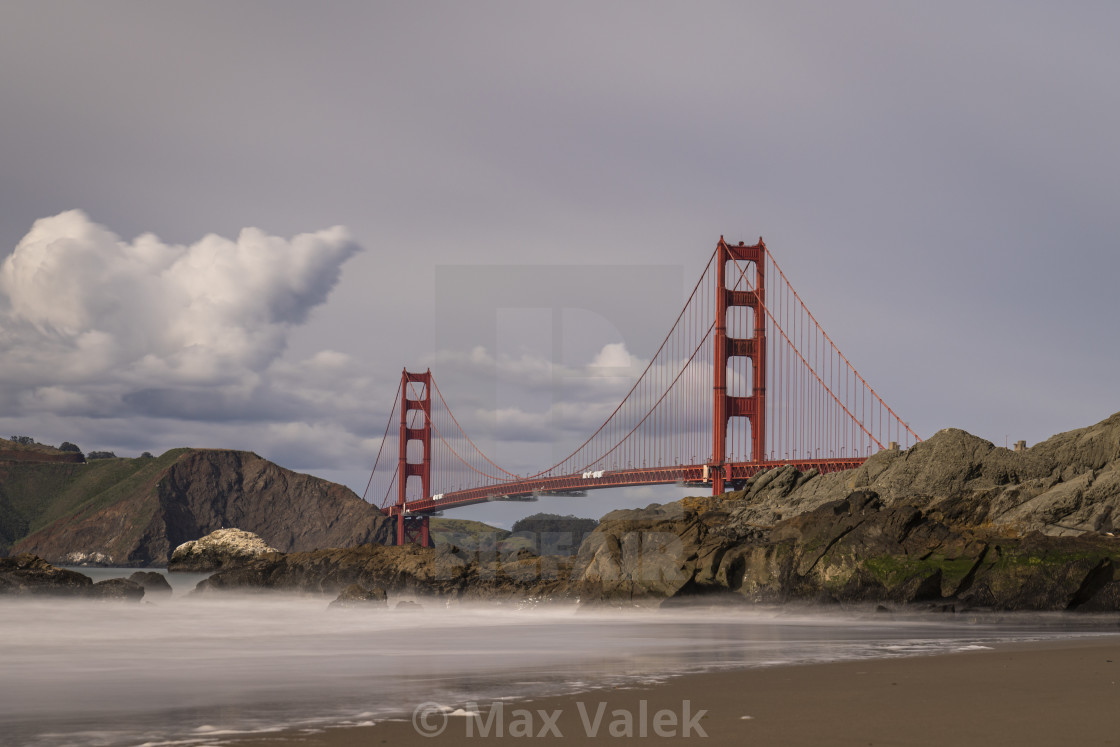 """Golden Gate Bridge"" stock image"