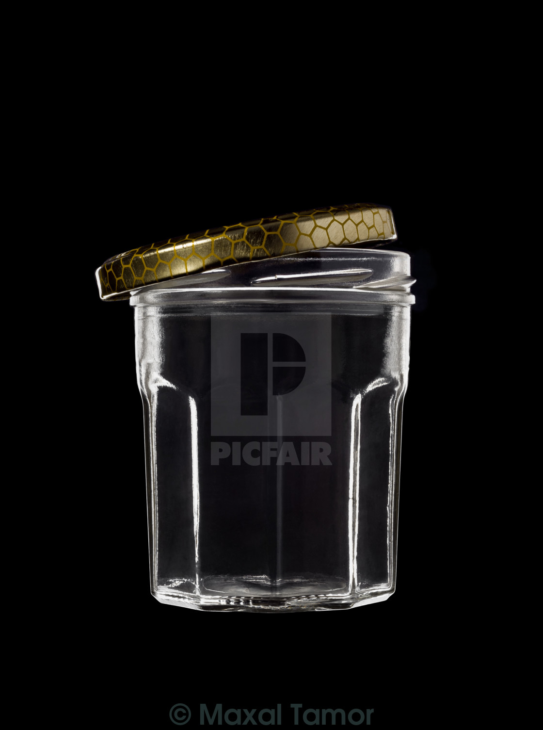 glass jar with open lid license for 7 38 on picfair