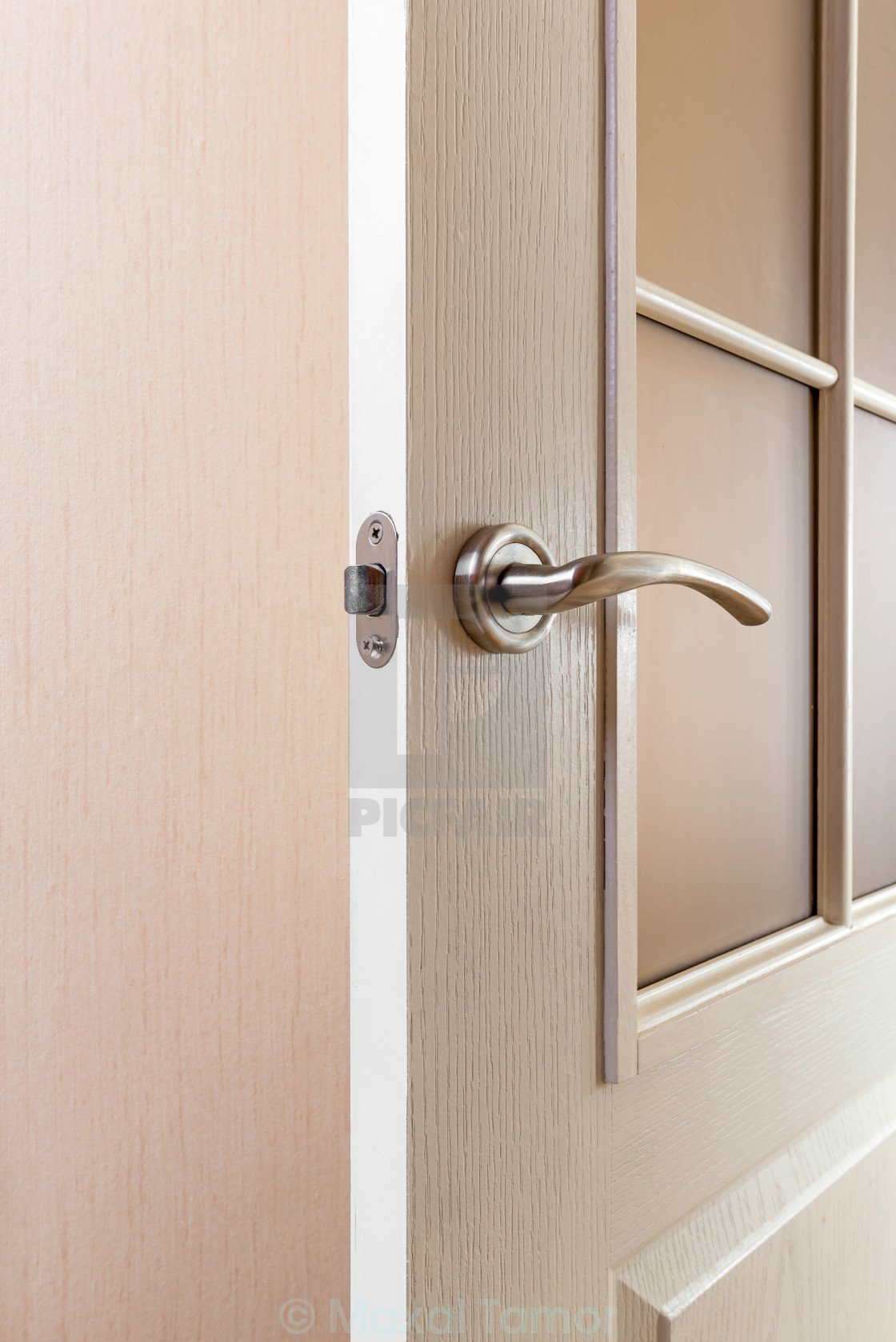 """""""Detail of Door Handle"""" stock image"""