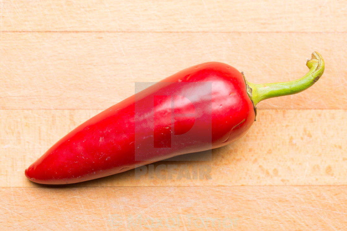 """Pepper From my Garden"" stock image"