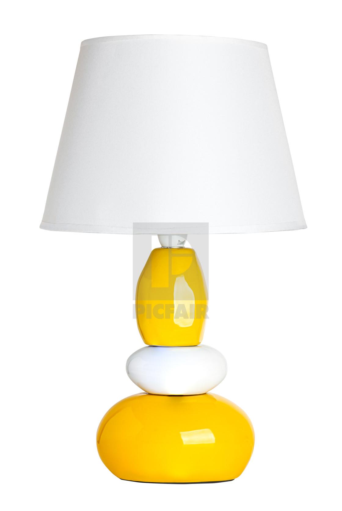 """""""Lamp isolated on white background"""" stock image"""