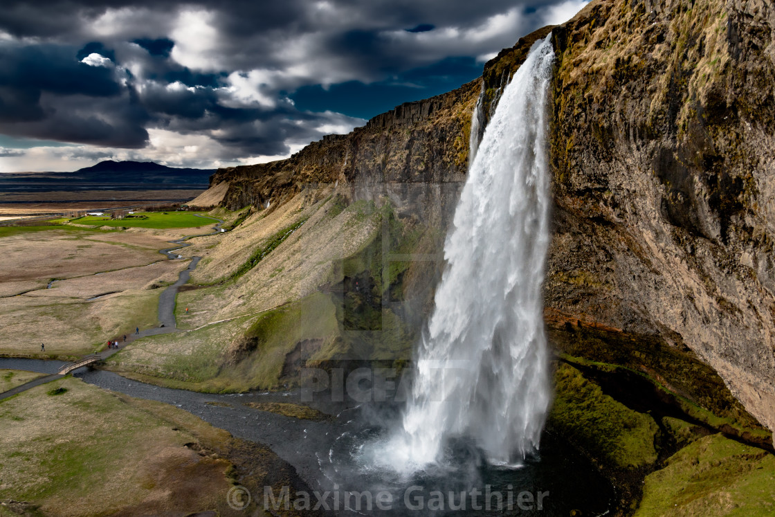 """Famous waterfall"" stock image"