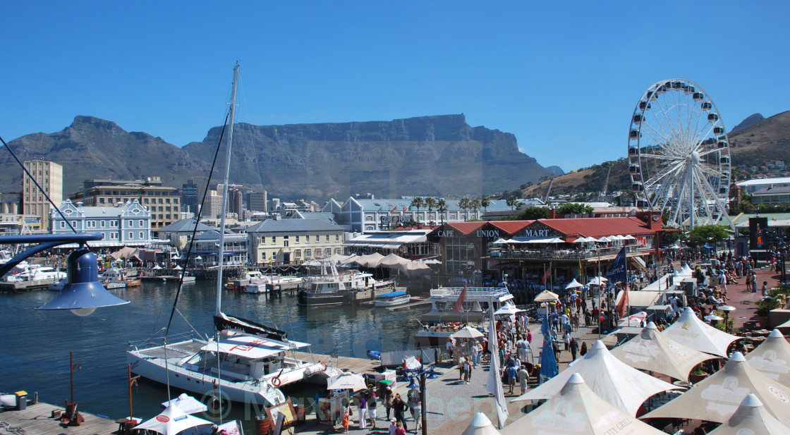 """V&A Waterfront, Cape Town"" stock image"