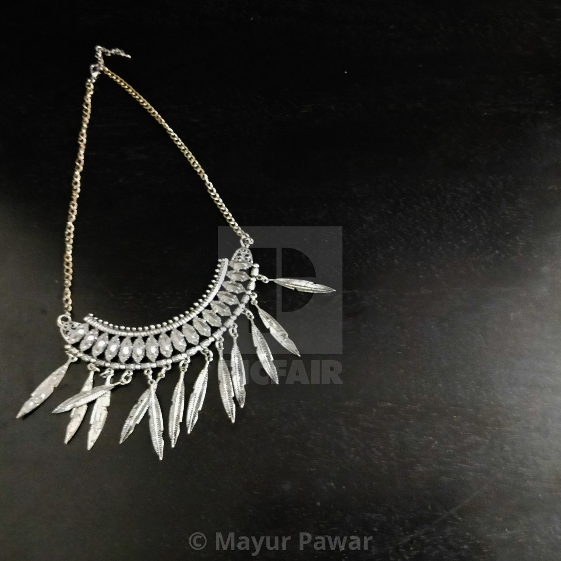 oxide silver necklace for fashion brand - License, download