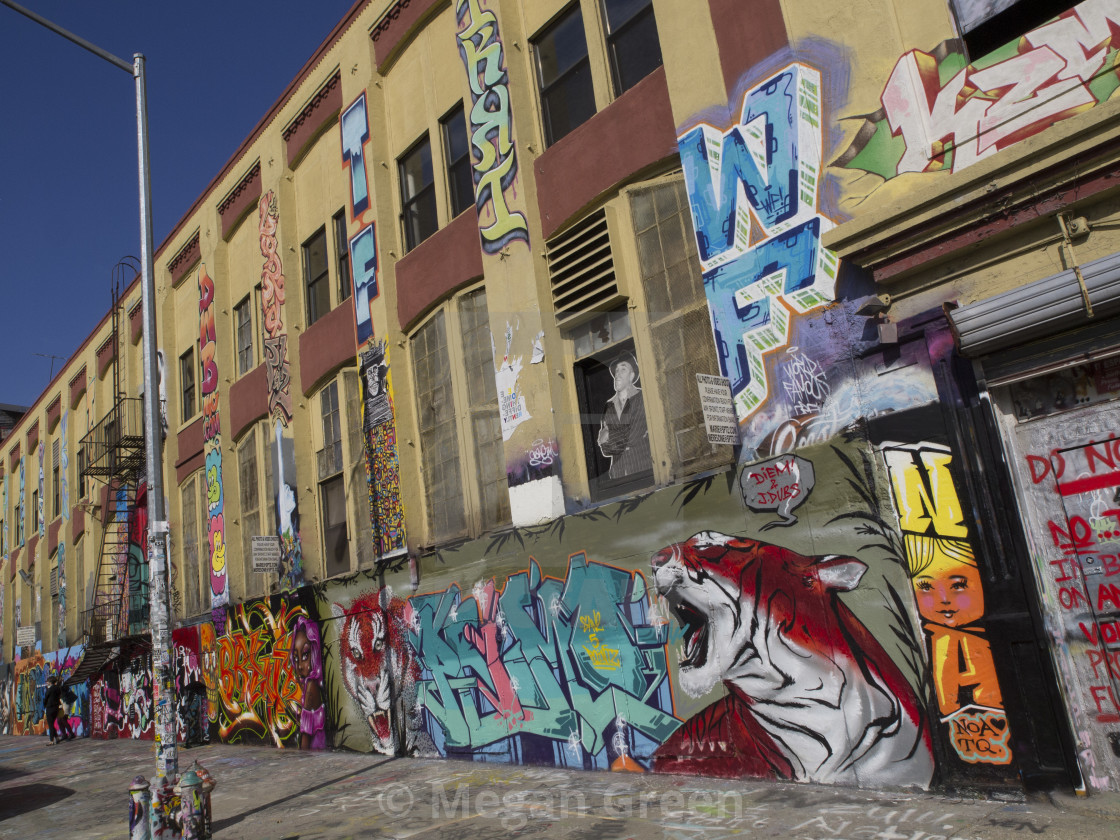 """5 POINTZ"" stock image"