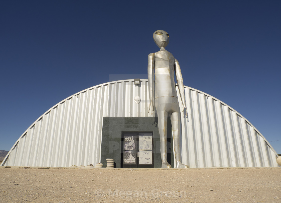 """""""Alien Research Center"""" stock image"""
