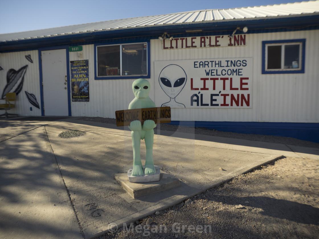 """""""Little Al E Inn"""" stock image"""