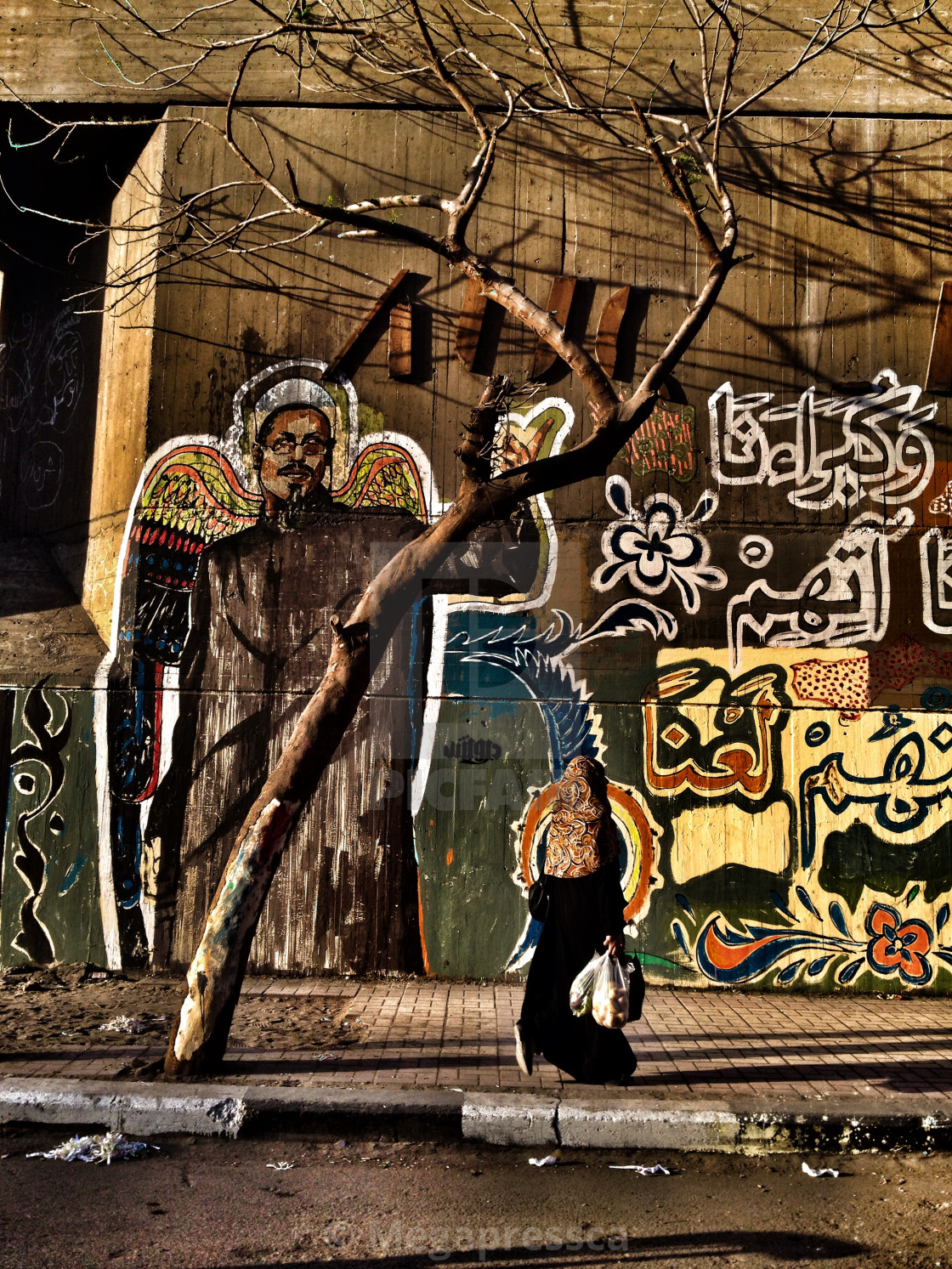 """Mohamed Mahmoud street"" stock image"