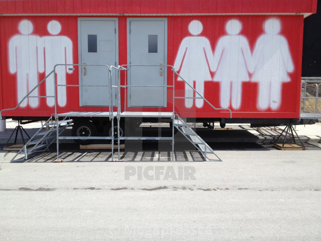 """Bathrooms"" stock image"