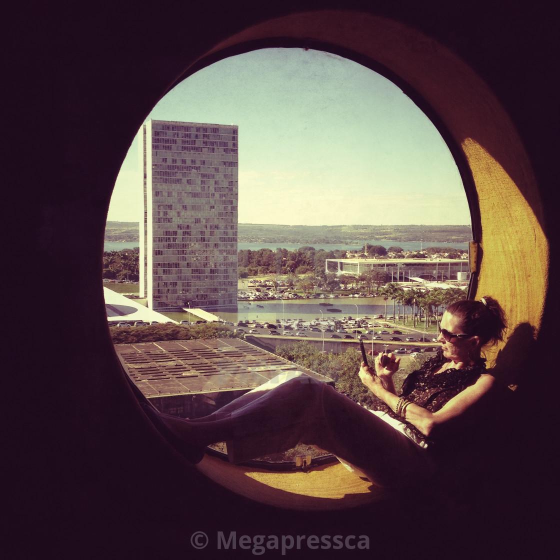 """Woman Brasilia"" stock image"