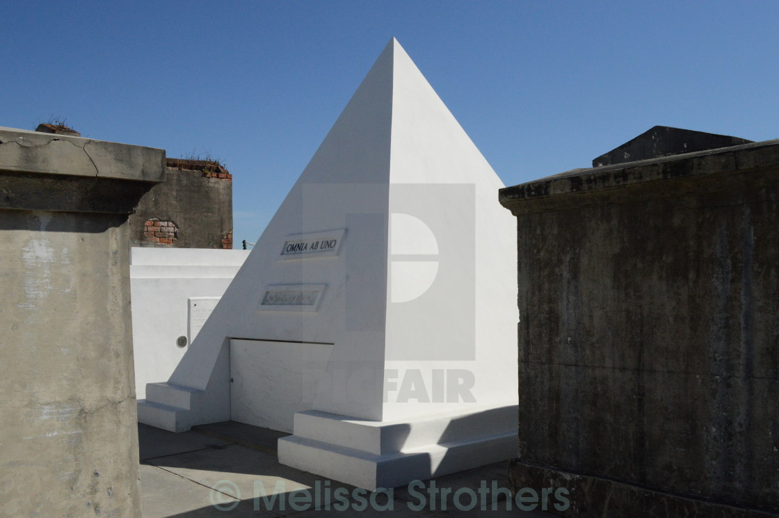 """Pyramid Vault"" stock image"