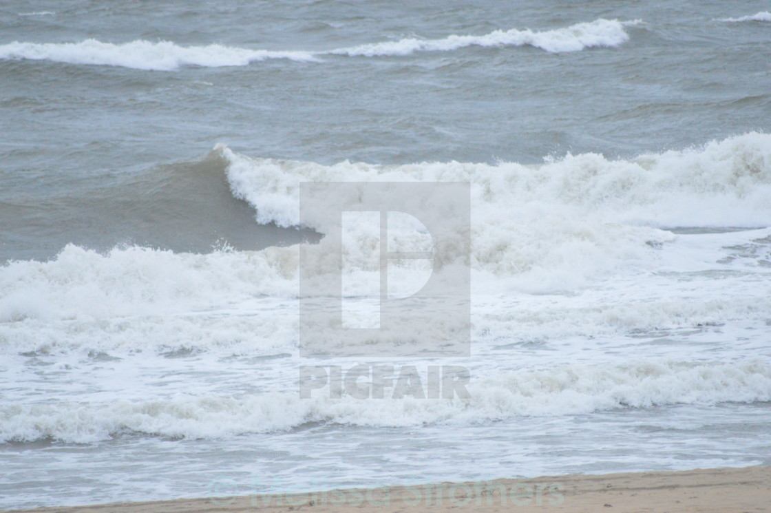"""Ocean waves"" stock image"