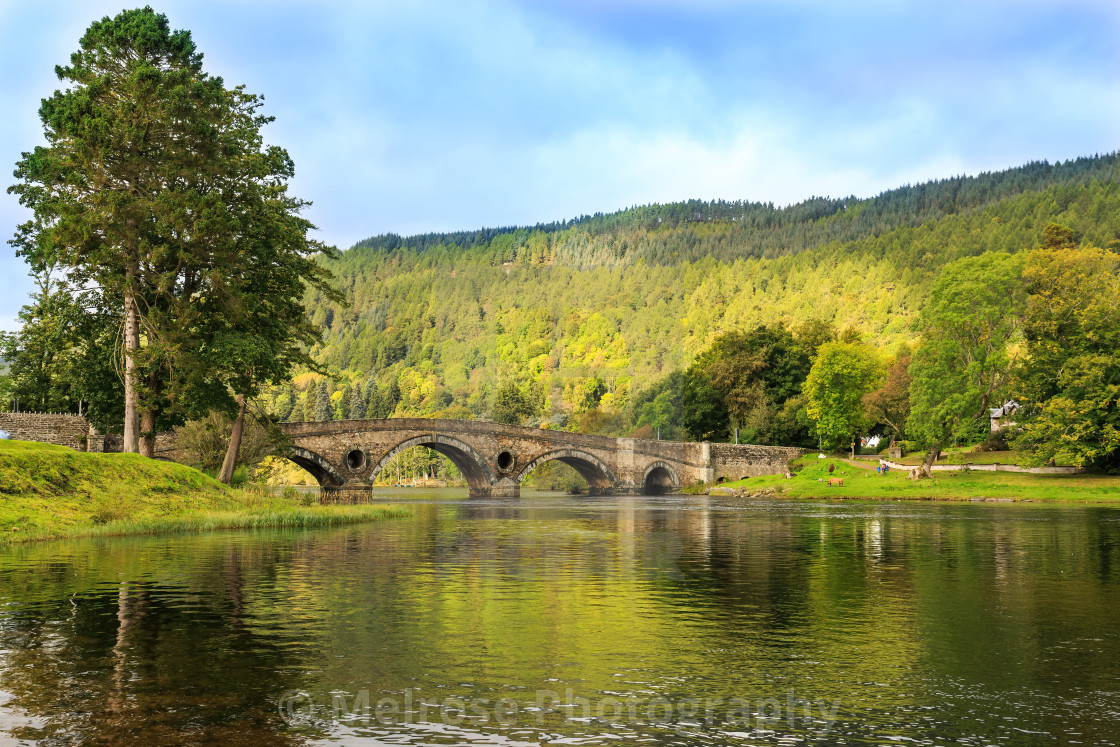 """""""Kenmore view from the banks"""" stock image"""