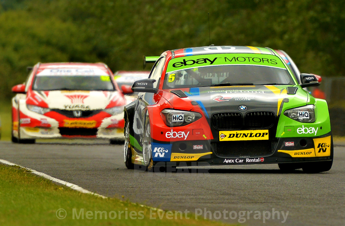 """Motor Racing MSA British Touring Cars"" stock image"