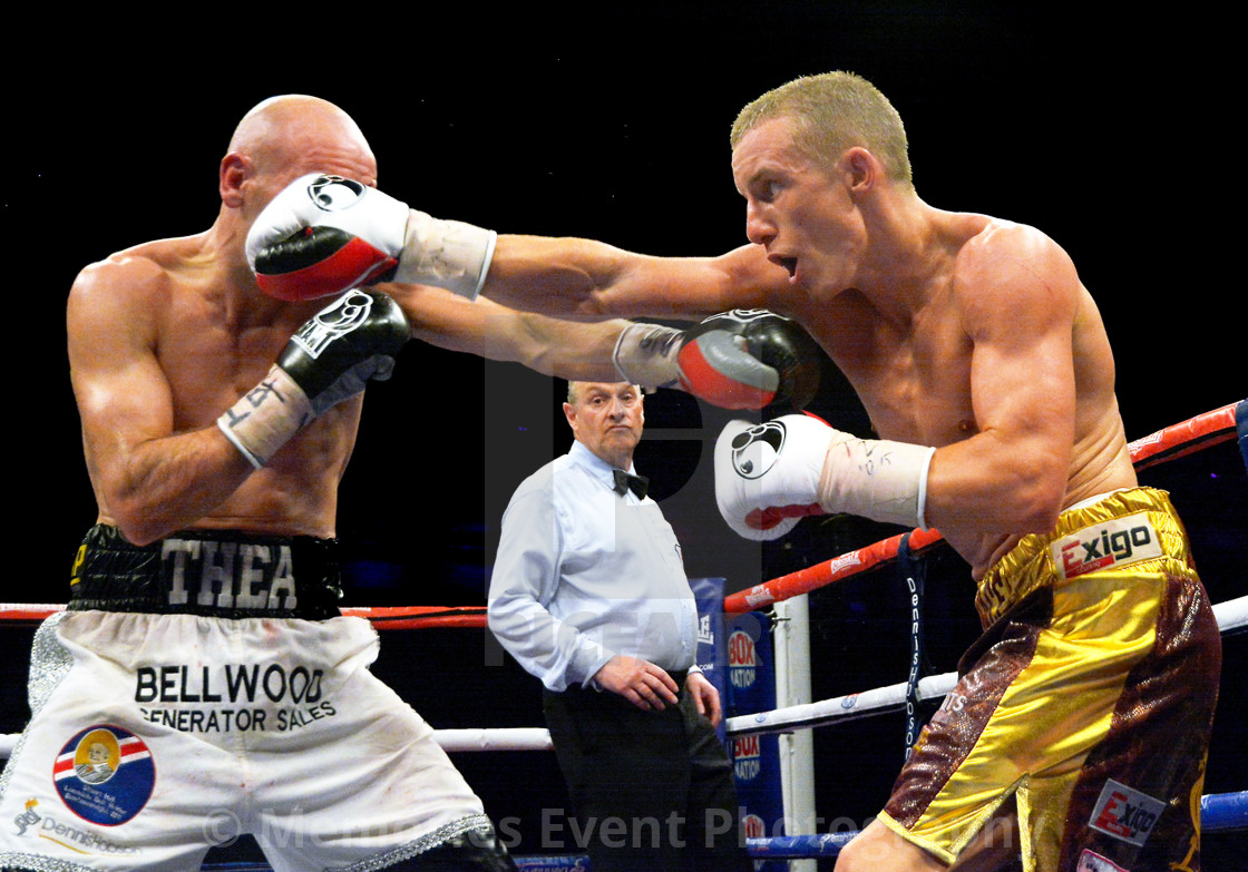 """Stuart Hall v Paul Butler"" stock image"