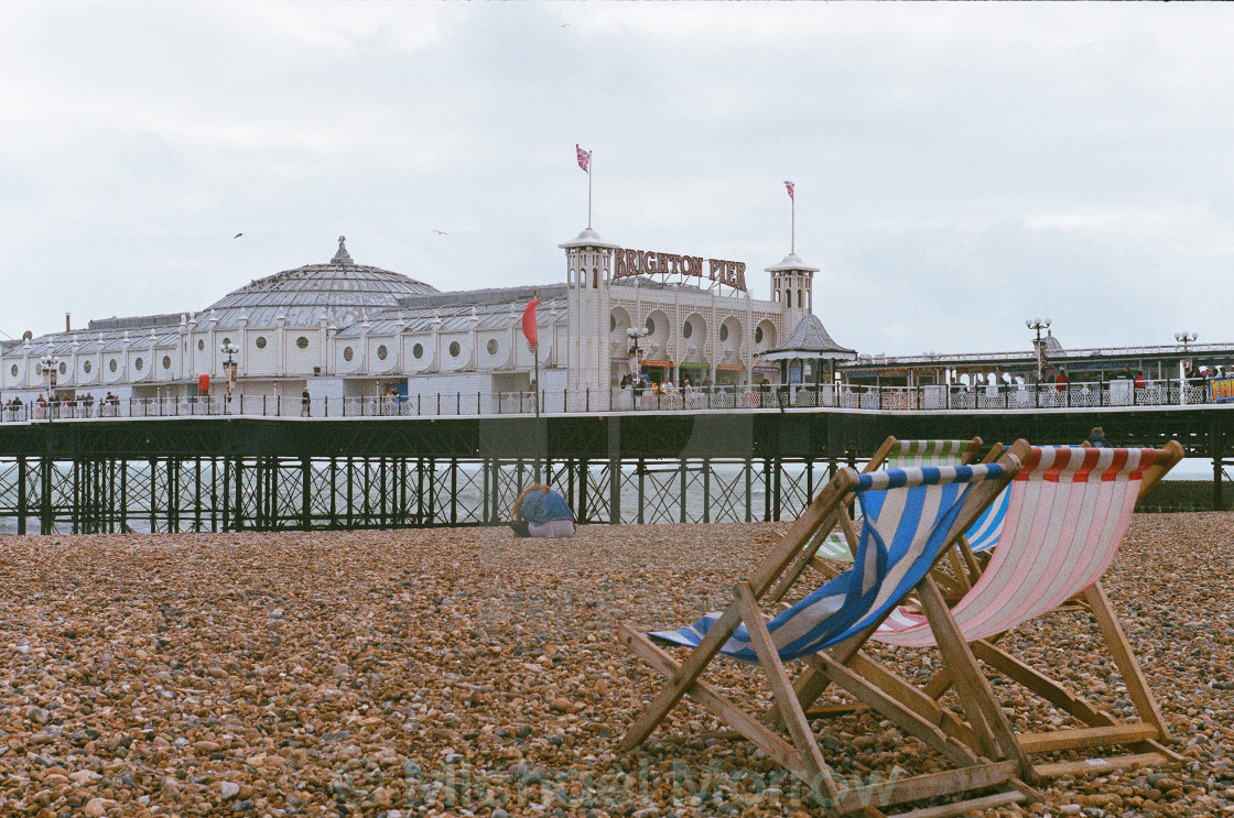 """Brighton Pier (1)"" stock image"