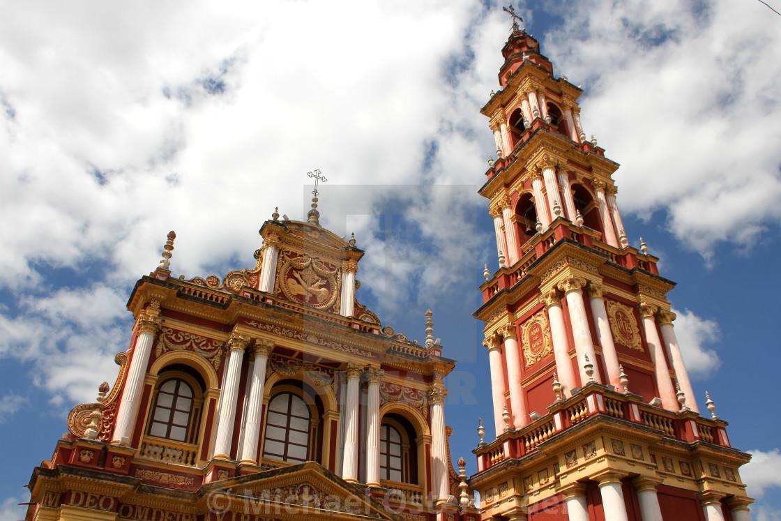 """Saint Francis Church in Salta"" stock image"